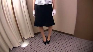 Crazy Japanese chick Yuzu Shiina in Best Masturbation/Onanii, Secretary JAV clip
