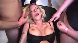 Cougar Group Sex #1 (Gangbang)