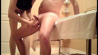 Handjob at Massage Parlor