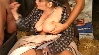 Filthy busty classic cougars still want to suck dicks