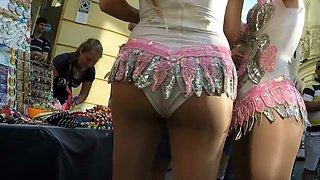 Pantyhose Dancers