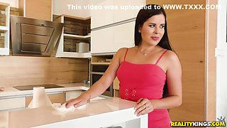 Teenagers Gina And Jordi Fuck A Hot Busty Cougar With Tattoos - Gina Gerson And Kayla Green