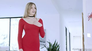 Lewd lesbian Carter Cruise is making love with her Gf in 69 position