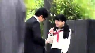 Japanese Bus Girls In Uniform Public 180287