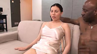 Sophia Takigawa busty enjoys threesome