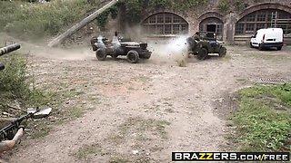 Brazzers - Pornstars Like it Big - Cock Of Duty A Parody scene starring Jasmine Jae