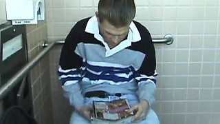 Young Christian Toilet Jacking