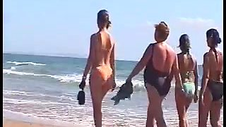 candid beach compilation 5