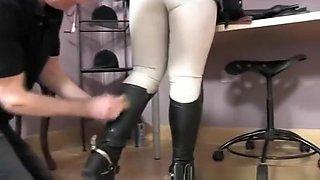 Hottest pornstar in crazy british, mature adult video