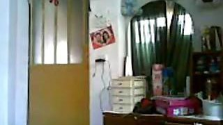 Indian Mumbai rich aunty enjoys with houseboy