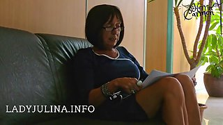 office mistress high heels nylons job interview lecksklave