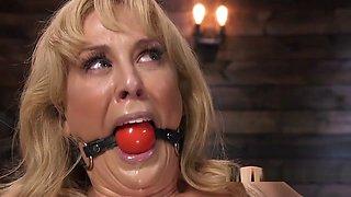 Blonde Milf Slave Suffers Bondage