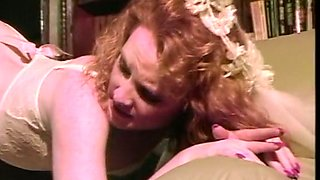 Redhead wicked hottie boned hard in the butthole on the couch