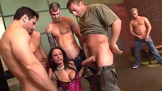 Crazy pornstar Mya Nichole in fabulous brunette, gaping porn clip