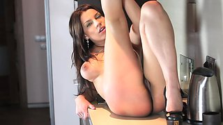 Solo tease Angel Rivas makes stripping look so hot
