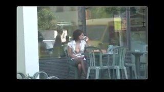 Public flashing exhibitionist nude in public 2