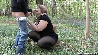 Sexy Thick BBW Sophia Fucked in the Woods