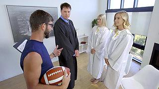 Catholic schoolgirls rule