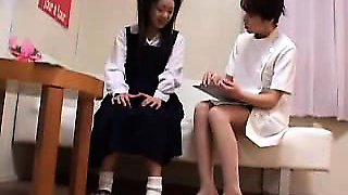 Asian teen is hot schoolgirl Ai Uehara in amateur POV
