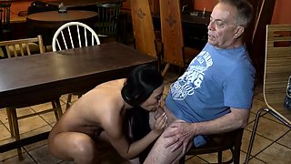 Teen sex with old man and my sugar daddy fuck me Can you tru