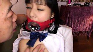 Bodacious Japanese wife explores her bondage fetish fantasy