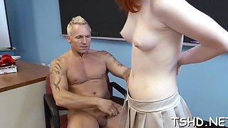 Dirty redhead first timer sadie kennedy gets penetrated