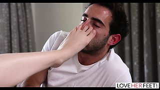 LoveHerFeet - Beating The Friendzone With A Hot Foot Fuck