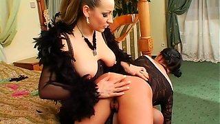 hot babe takes a hard banging segment