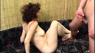 AUNTIE RUSSIAN HAIRY MATURE