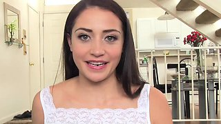 DadCrush- Sexy Daughter Brings Dad Breakfast In Bed