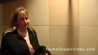 Sasha Perl pleauring a boner in a public toilet room naughtily
