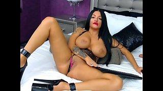 Huge Boobs American Girl - Lovely Slut Masturbating 01 HD