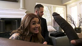 Vanessa Vega Does BBC Anal In Front Of Her Cuckold Husband