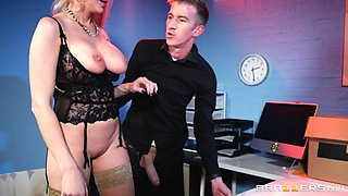 Kayla Green  Danny D in Tits Thighs And Office Supplies - BrazzersNetwork