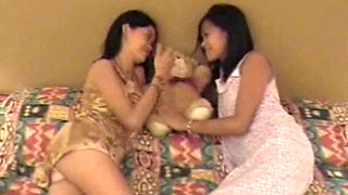 Two Young Filipina Lesbians