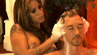 Beautiful Turkish Blonde MILF Massage