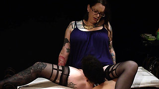 Baby Brook needs a spanking and wants licking Mistress