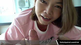 Hot Thai Babe Loves Creampie