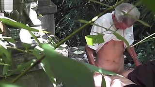 Chinese grampa with prostitute - hidden cam