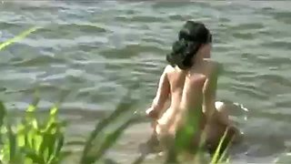 dilettante pair sex in nudist beach