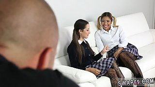 White girl teen bareback School Photo Substitution