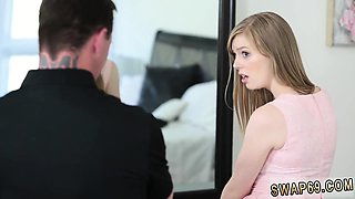Daddy punishes compeer's daughter first time Dolly is