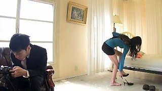 Crazy Japanese chick in Hottest Voyeur, Big Tits JAV scene