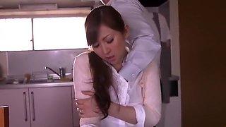 Exotic Japanese girl Chihiro Hara, Leila Aisaki in Best MILFs, Fingering JAV scene