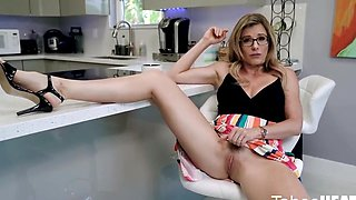 Mom In Glasses Is Ready For An Anal Adventure In The Kitchen With A St - Cory Chase