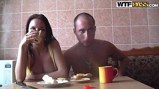 Amateur Couple Banging in Sauna
