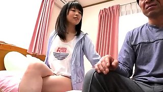 Amateur Japanese teen doll hardcore action