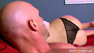 innocent looking girl melissa may seducing her step dad