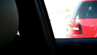 Car Blow Job with a friend