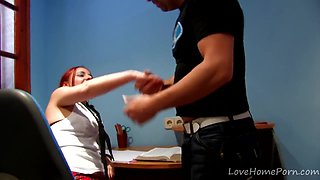 Bad Schoolgirl Gets Punished Hard With Cock